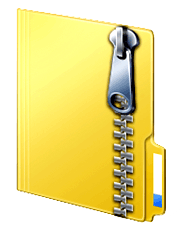zipped file icon